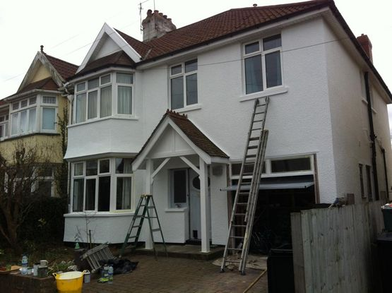 exterior painting after 5