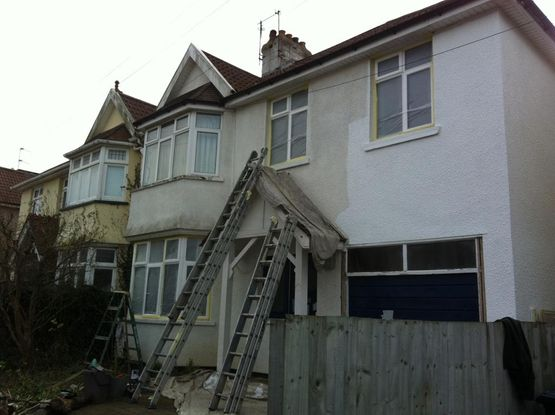 exterior painting before 5